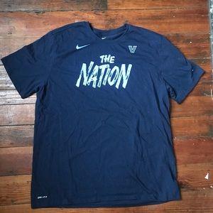 Villanova University The Nation Nike T-shirt XXL